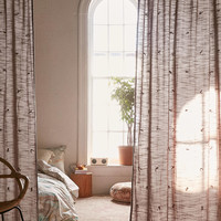 Wissa Tufted Curtain | Urban Outfitters