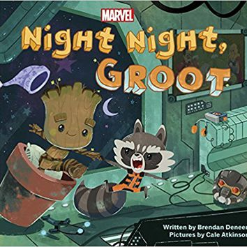 Night Night, Groot Board book – January 23, 2018