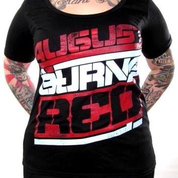 August Burns Red Girls T-Shirt - Sporty Logo