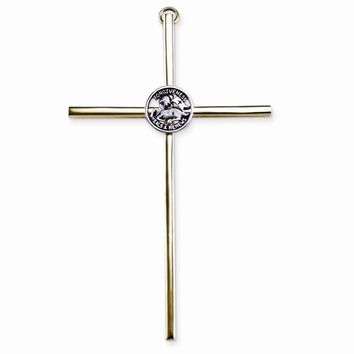 Gold-tone/silver-tone Metal Forgiveness Reconciliation Wall Cross