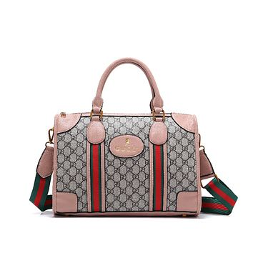 GUCCI Women Shopping Leather Handbag Tote Satchel Crossbody Shoulder Bag