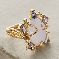 Indulgems Morning Glory Ring in Gold Size: