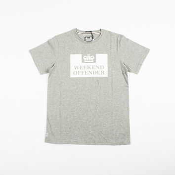 Weekend Offender Prison Tee - 'Grey'
