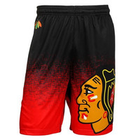 Chicago Blackhawks Official NHL Shorts