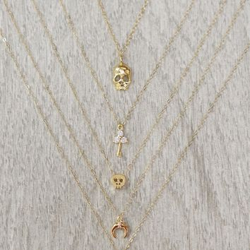 SCARLET X MEEMS | Dainty Gold Necklaces