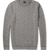 PS by Paul Smith Patterned Crew Neck Sweater | MR PORTER