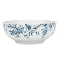 Kathy Ireland Home by Gorham Nature's Song Vegetable Bowl