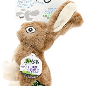 goDog Wildlife with Chew Guard Small-Rabbit