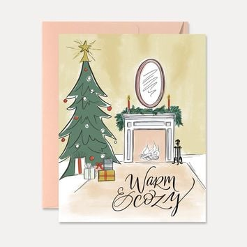 Warm & Cozy - A2 Note Card