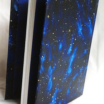 Star gazing blank sketchbook/ art/ travel journal/ diary/ book