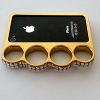 Custom Cell Phone Case- Brass Knuckles