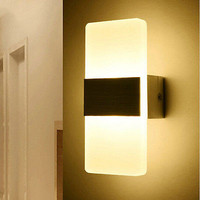 Creative Mini 3W LED Wall Lamp Bedside Light Balcony Aisle Corridor Wall LampsHU