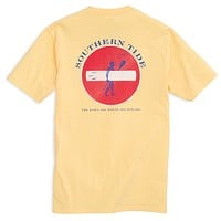 Rocky Shores Tee Shirt in Pineapple by Southern Tide