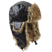 High Quality Warm Proof Trapper Hat Women Bomber Hats Russian Hat Sport Outdoor Ear Flaps Bomber Caps for Men