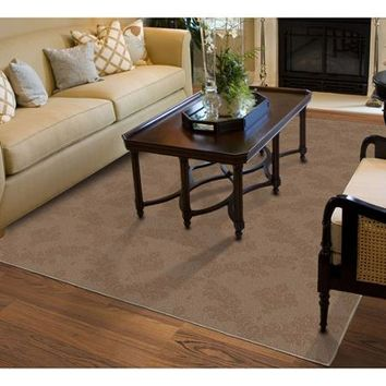 Charleston Cut-and-Loop Patterned Olefin Area Rug - Walmart.com