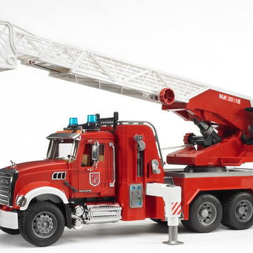 Bruder Mack Granite Fire Engine Truck With Water Pump 02821 Ets Hobby Shop
