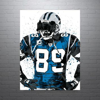 Steve Smith Carolina Panthers Poster