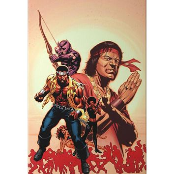 House of M: Avengers #2  - Limited Edition Giclee on Stretched Canvas by Mike Perkins and Marvel Comics