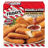T.G.I. Friday's Mozzarella Sticks with Marinara Sauce 17.4 oz : Target