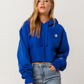 CHAMPION Reverse Weave Womens Crop Hoodie