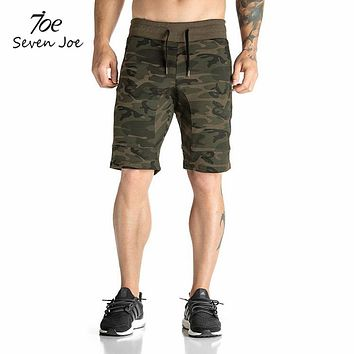 High Quality Men shorts Bodybuilding Fitness GYMS workout jogger shorts Camouflage shorts