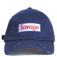 Savage Basball cap Navy
