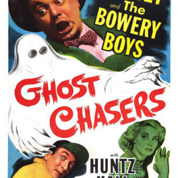 movie POSTER ghost CHASERS leo GORCEY and the BOWERY BOYS SPOOKY 24X36