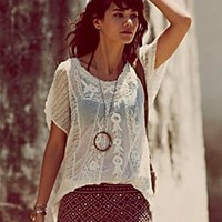 Free People FP ONE I Shall Be Free Buttondown