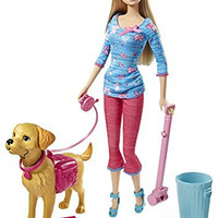 Barbie Potty Training Taffy Barbie Doll and Pet
