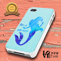 Ariel Quote Little Mermaid Disney  for iphone, ipod, samsung galaxy, HTC and Nexus PHONE CASE