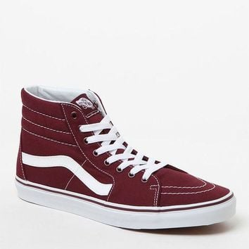 ESBONDI5 Vans Canvas Sk8-Hi Reissue Port Shoes