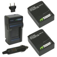 Wasabi Power Battery (2-Pack) and Charger for GoPro HD HERO3 and GoPro AHDBT-201, AHDBT-301:Amazon:Camera & Photo