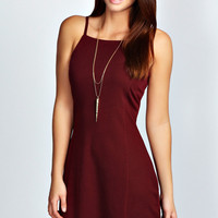 Ellie Strappy Fit And Flare Dress