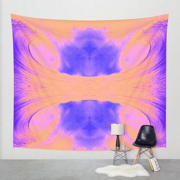 LIQUIDELIC SERIES Wall Tapestry by Brian Biles