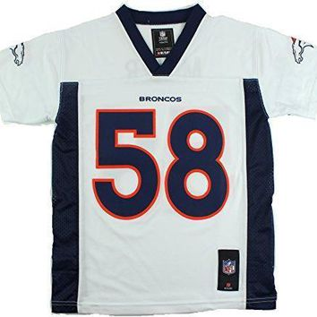 Von Miller Denver Broncos #58 Nfl Youth Mid Tier Jersey White