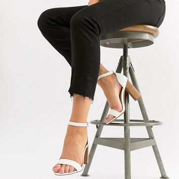 ASOS DESIGN Tamsina Wide Fit Heeled Sandals at asos.com