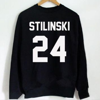 DCCKJ1A stilinski 24 [Front] new letter sweater front