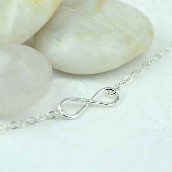 Infinity Silver Necklace