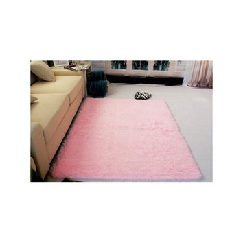 120*160cm Living Room Carpet Shag Rug for Children Play