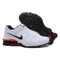Nike Shox Current Woman Men Fashion Breathable Sneakers Sport Shoes-10