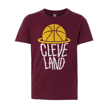 Kids - Cleveland Nothing But Net - Youth Tshirt