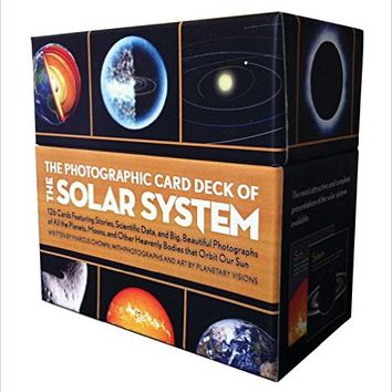 Photographic Card Deck of the Solar System: 126 Cards Featuring Stories, Scientific Data, and Big Beautiful Photographs of All the Planets, Moons, and Other Heavenly Bodies That Orbit Our Sun Cards – November 13, 2012