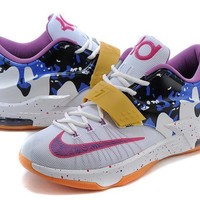 Nike Mens Kevin Durant Kd 7 Se Ep Peanut Butter Jelly Us7 12