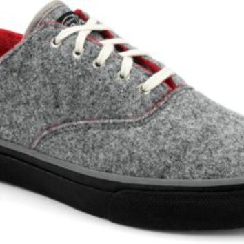 Sperry Top-Sider Cloud CVO Wool Dual Tone Sneaker Gray/Red, Size 12M  Men's Shoes