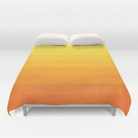 Simple Lines Series Duvet Cover by Timothy Davis