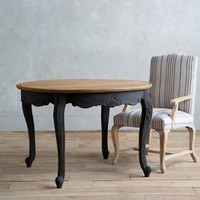 Cabriole Dining Table, Round by Anthropologie