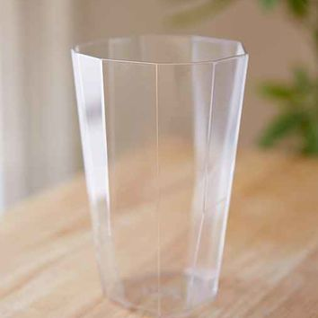 Faceted Acrylic Cup
