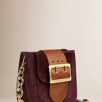 The Belt Bag – Square in English Suede