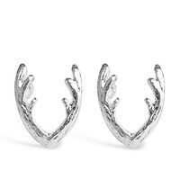 Beautifully Crafted Unique Stud Antlers Earring