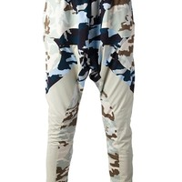GIVENCHY camouflage print trouser